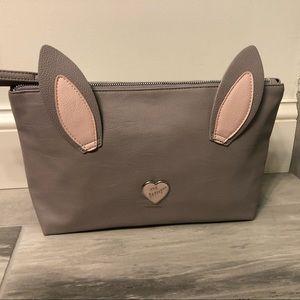 🆕 Betsey Johnson Kitsch Cosmetic Bag Bunny
